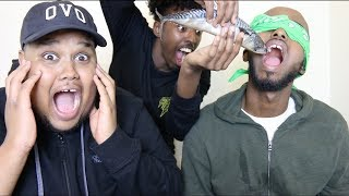 WHAT'S IN MY MOUTH CHALLENGE *PRANK!*
