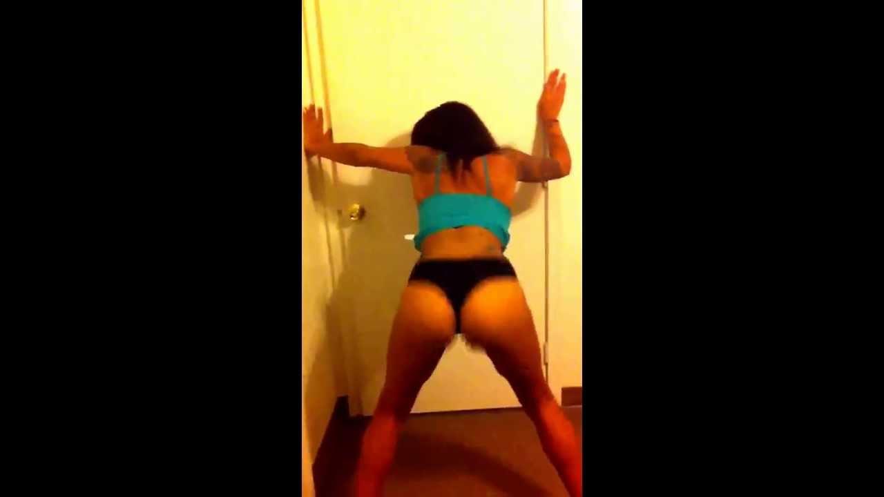 Slim Thick Booty Ebony Amateur