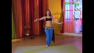Танец живота для начинающих с Валерией  Путицкой. Урок 8
