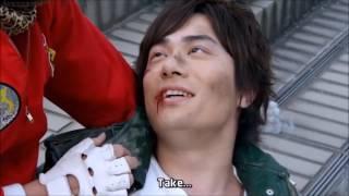 Tatsuhisa Suzuki Funny Scene on toukumei sentai go-buster returns vs doubutsu sentai go busters