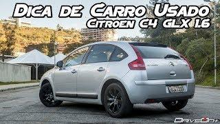 Citroen C4 Hatch 1.6 GLX - Dica de Usado (Canal Driveon+)