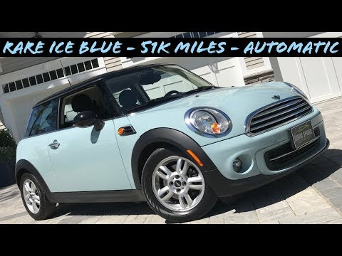 (RARE ICE BLUE - LOW MILES) 2013 Mini Cooper Review At LFM