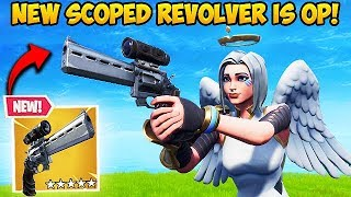 New Scoped Revolver Is Op Fortnite Funny Fails And Wtf Moments 442
