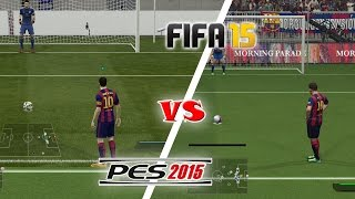 FIFA 15 vs. PES 15: Penalty Kicks