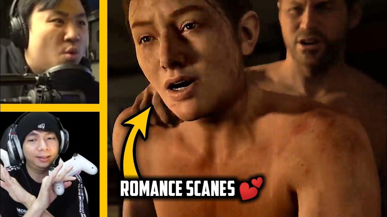 Reaksi MiawAug dan The Jooomers di Game The Last Of Us Part 2!! ~ Romance Scanes