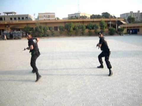 SSU sindh police pakistan karate self defense No.1  saleem niazi