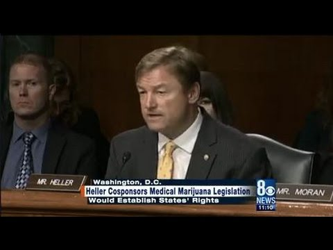 Senator Dean Heller Cosponsors Medical Marijuana Legislation