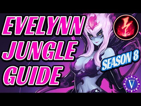 Rank Up With Evelynn - Season 8 Ultimate Guide (With New Runes!)