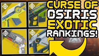 Destiny 2 - Ranking All 24 Exotic Weapons!! (Curse of Osiris)