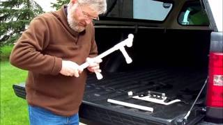 An Inexpensive Pickup Truck Bed Bike Rack.