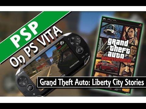 PSP on PS VITA: Grand Theft Auto - Liberty City Stories (Classic Gaming On PSVita)