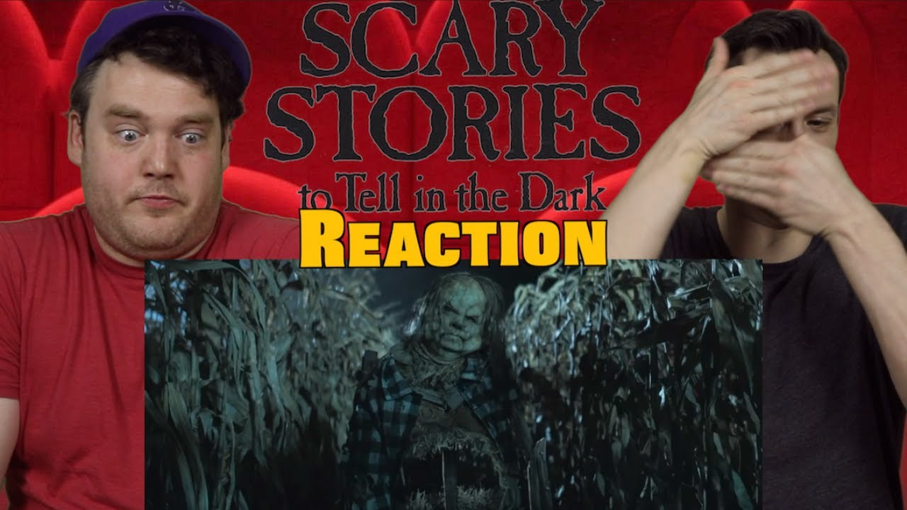 FULL Scary Stories to Tell in the Dark - Official Trailer Reaction / Review / Rating