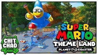 That Kamek Magic | Super Mario Theme Park - Planet Coaster