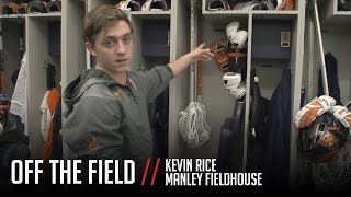 Syracuse Lacrosse Locker Room Tour with Kevin Rice