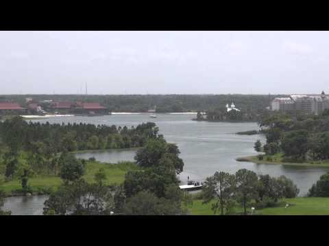 Seven Seas Lagoon from Disney's Contemporary Resort at Walt Disney World