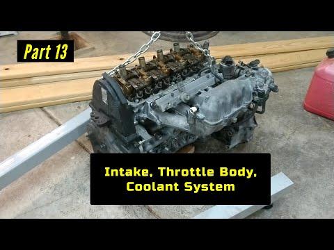 F23 Honda Accord Engine Rebuild Part 13: Intake, Throttle Body, Odds & Ends
