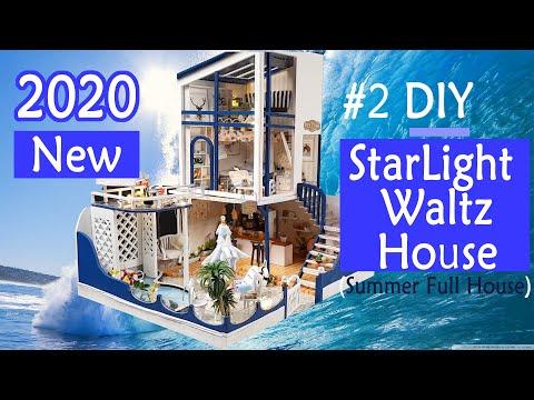 02.DIY Miniature House | Starlight Waltz House (summer full house) 별빛 왈쯔하우스 | 미니어처 | 미니어처하우스