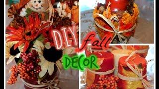 DOLLAR TREE DIY: Fall Decor