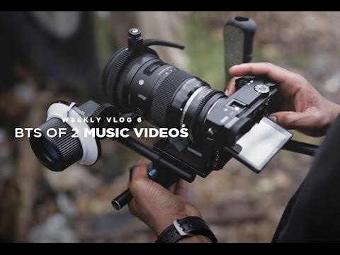 BTS Of 2 A6300 Music Videos + Buying NEW EQUIPMENT (Weekly Vlog 6)