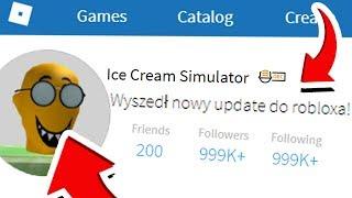 ⭐ NOWY UPDATE W ROBLOX ICE CREAM SIMULATOR ⭐