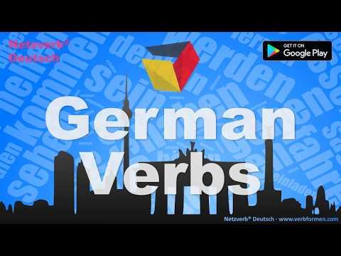 German Verbs - Mobile App Promotional Video