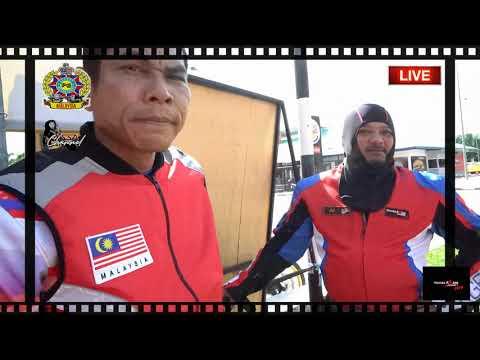 gelagat pengecara konvoi Honda Asian Journey 2019