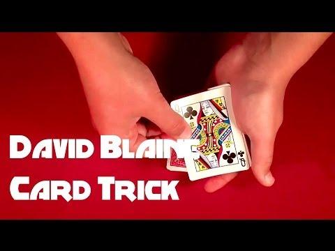 Easy David Blaine Signed Card Trick Revealed