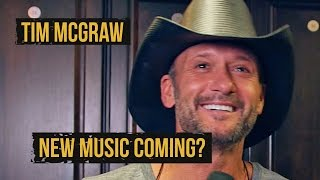 Tim McGraw Working on New Music, and New Movies - 2015 Taste of Country Music Festival