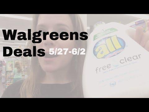 Top Walgreens Deals This Week: 5/27-6/1 -- Great Detergent Deals!