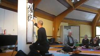 Performance in France 5/1 誠指圧道 - Sei Shiatsu Dō