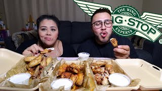 WingStop Feast MUKBANG