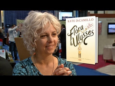 Newbery Medal Author Kate DiCamillo on Flora & Ulysses: The Illuminated Adventures