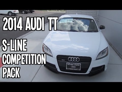 2014 audi tt s line competition pack review engine interior youtube. Black Bedroom Furniture Sets. Home Design Ideas
