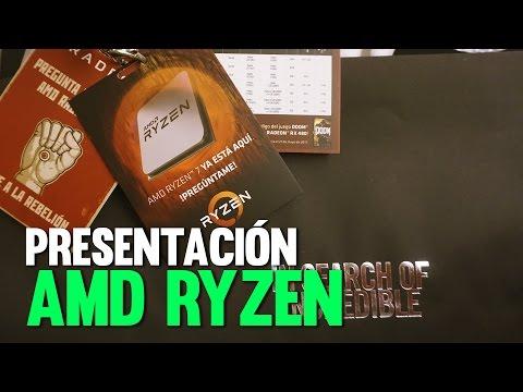 Presentación de AMD RYZEN  y Asus en la Ciudad de México