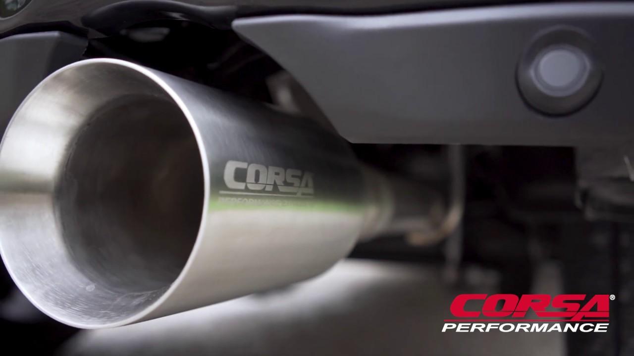 corsa performance 2019 ram 1500 5 7l v8 exhaust system sport sound level