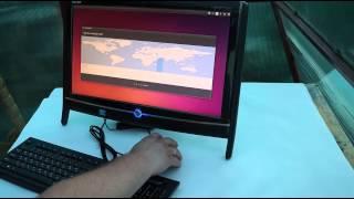 моноблок Acer Aspire Z2650G распаковка установка Ubuntu