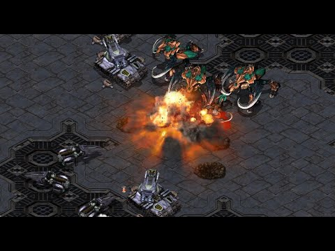 1440p! - Effort (Z) v Light (T) on Circuit Breakers - StarCraft - Brood War REMASTERED