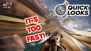 Redout: Quick Look (Wipeout/F-Zero On Switch) (Video Game Video Review)