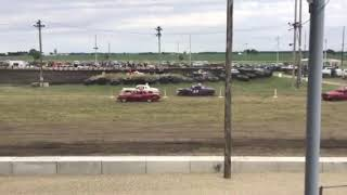 Figure 8 racing in Osage @ 7pm 6/14/19 Cruiser Heat 1 Pt 1