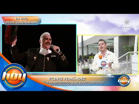 Vicente Fernández Jr. confirma que su padre padece el Síndrome de Guillain-Barré   Programa Hoy