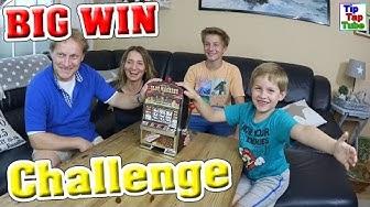 SLOTMACHINE BIG WIN CHALLENGE Wer verspielt sein Geld? Wer gewinnt? TipTapTube