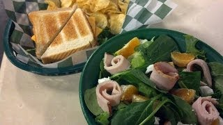 Making Winter Salad And Turkey Lurkey Sandwich On Studio10