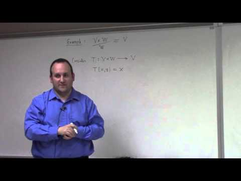 Linear Algebra: April 15, first isomorphism theorem, dual space