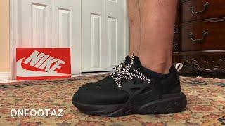 Nike React Presto Black Cat Triple