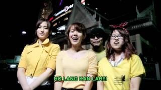 Cute Thai girls support Bersih 3.0 with Namewee 黃明志