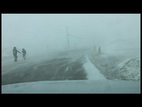 Spring Blizzard shutsdown Iqaluit