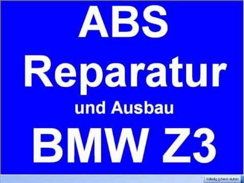 ausbauen reparatur bmw z3 abs pumpe ate 34. Black Bedroom Furniture Sets. Home Design Ideas