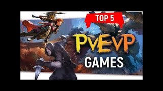 "💥Top 5 ""PvEvP Games"" Player Versus Environment Versus Player"