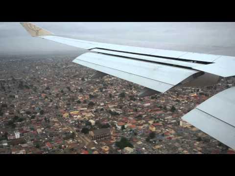 Chegada a Luanda com o 747-400 Atlas Air (SonAir)