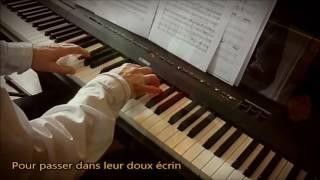 Quand les roses (Adamo). Piano et arrangements: André Caron